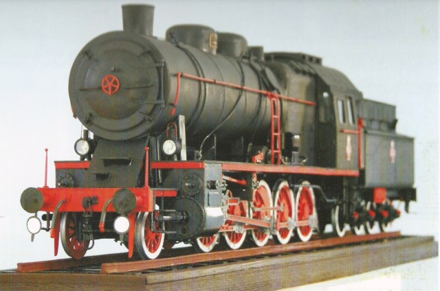 steam engine TY23 -11
