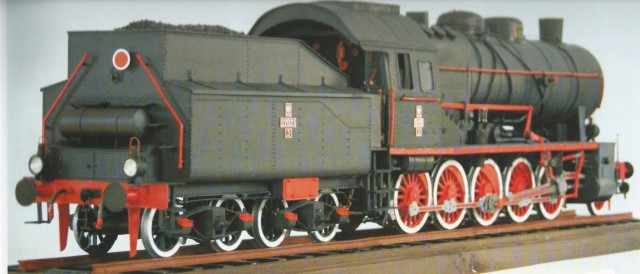steam engine TY23 -6
