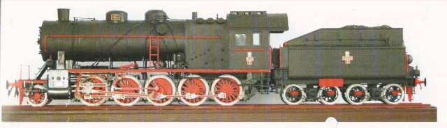 steam engine TY23-9