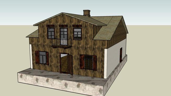 Wooden House Karpinski