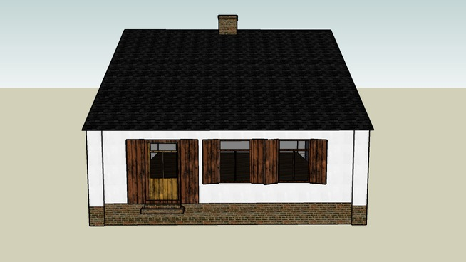 wooden house sprawka