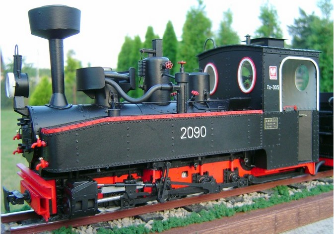 narrow gauge steam engine px48 view 1