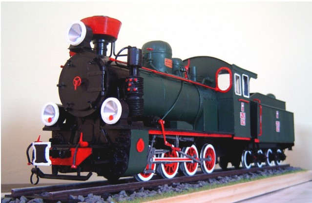 steam engine px29 model image 4
