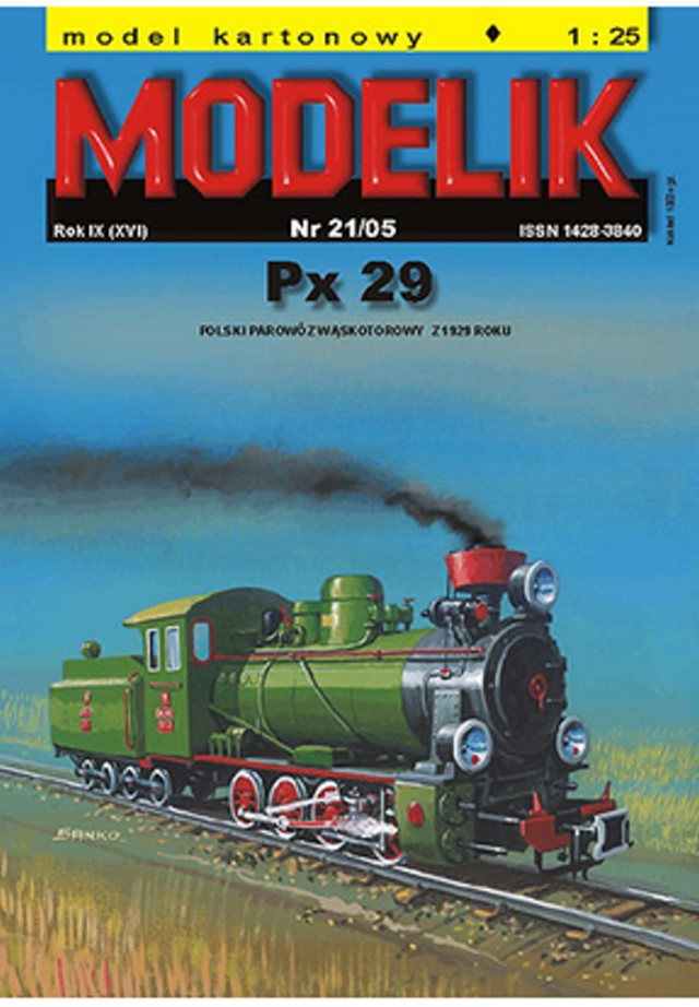 steam engine px29 book cover