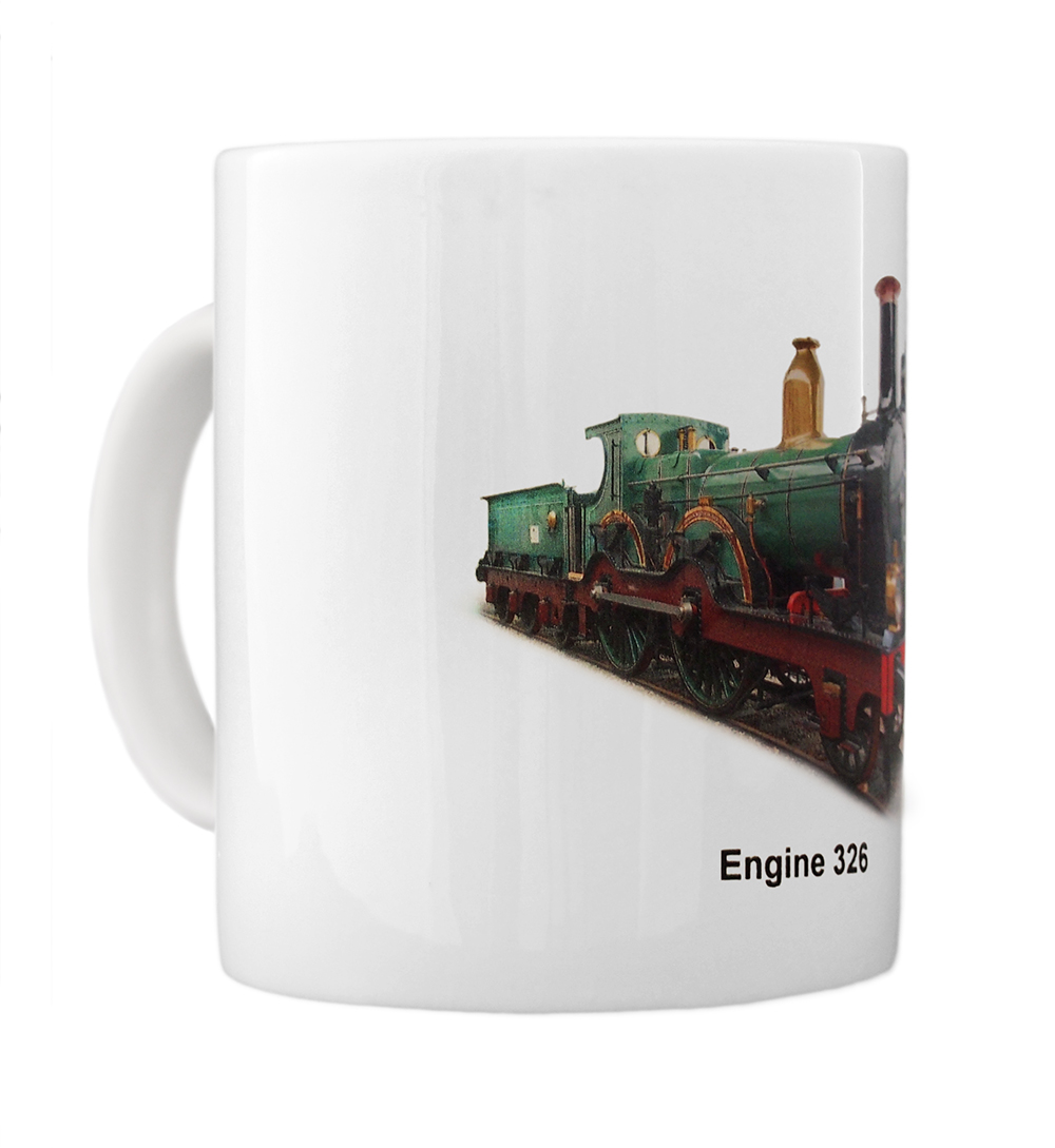 engine 326 mug left view