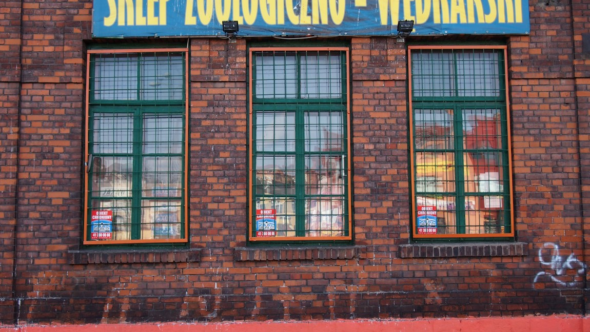 Starochowice West Station Front Windows