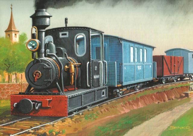 steam engine wilanowska