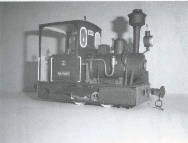 narrow gauge engine wilanowska model 1