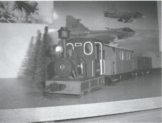 narrow gauge engine wilanowska finished model 2
