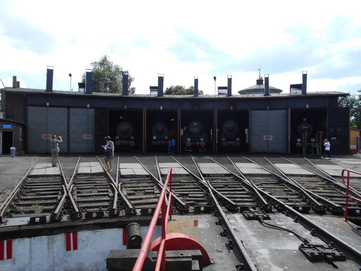 Wolsztyn Steam Engine Roundhouse