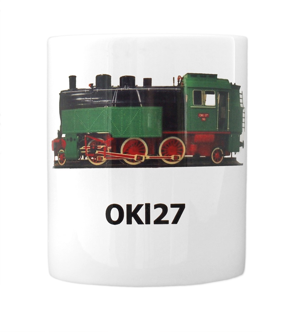 engine OKl27 mug front view