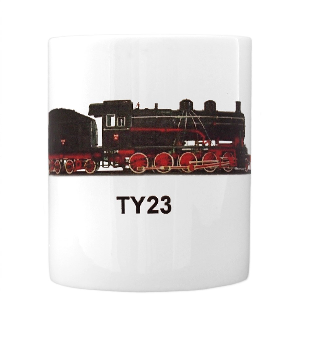engine TY23 mug front view