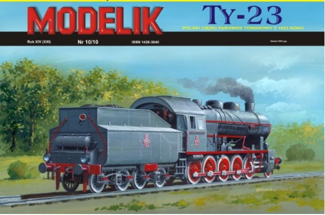 steam engine TY 23 -1