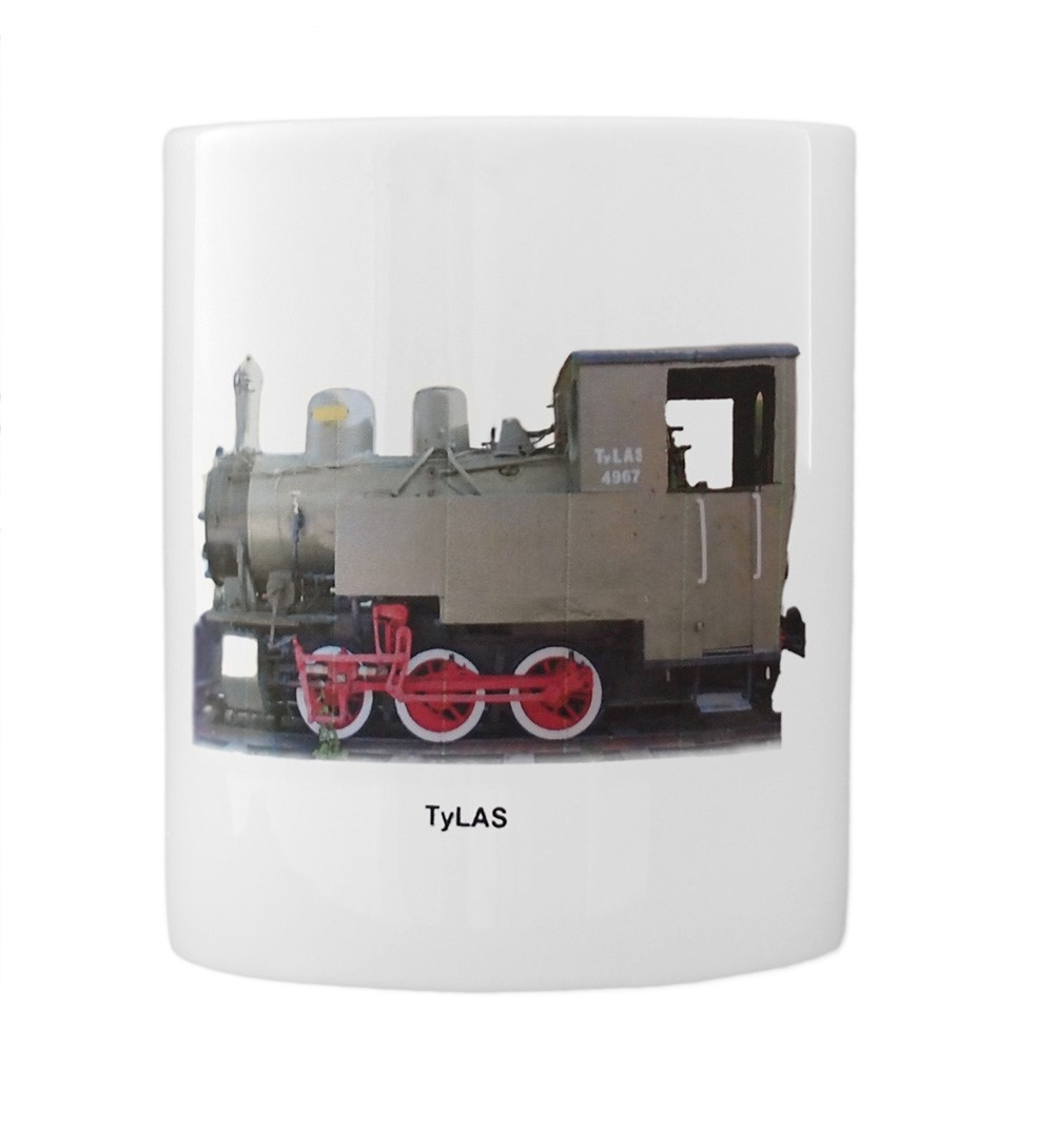 engine Cn2t Las mug front view