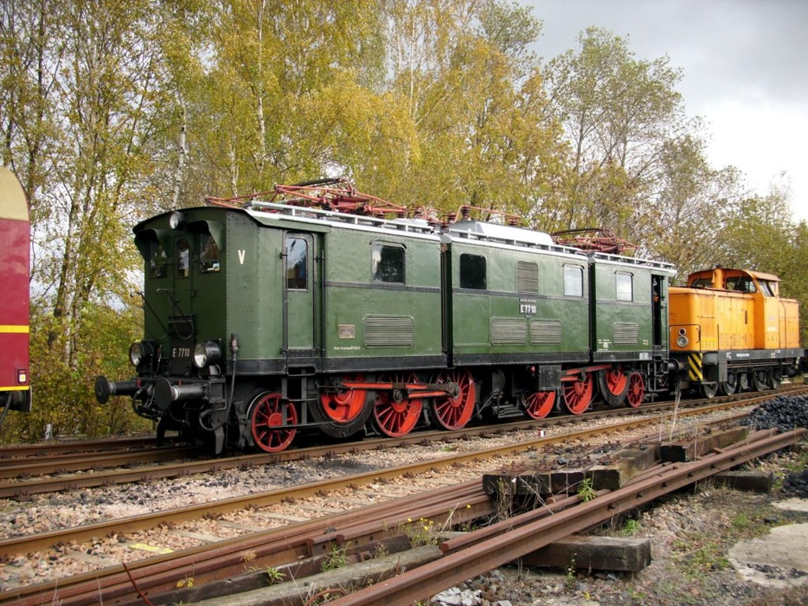 e77 electric locomotive