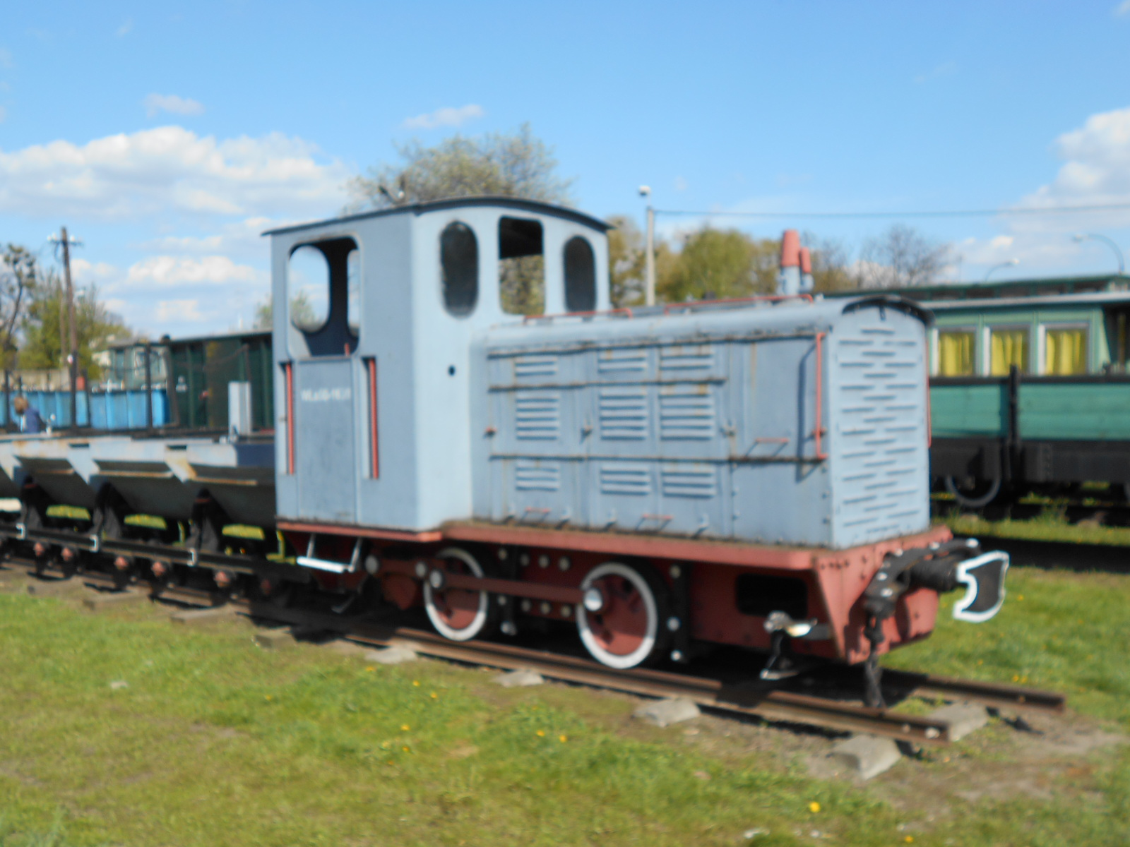industrial narrow gauge locomotive