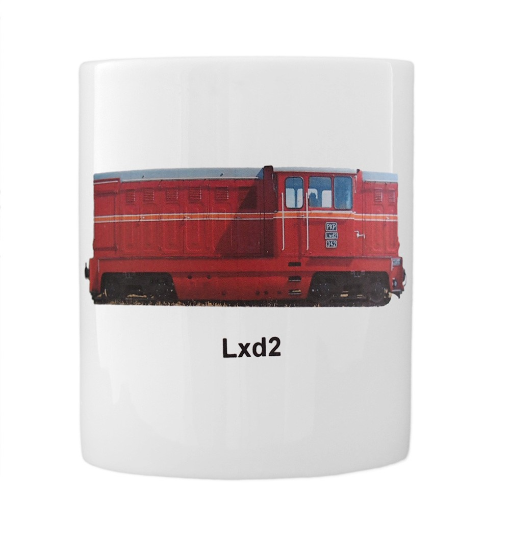 engine Lxd2 mug front view