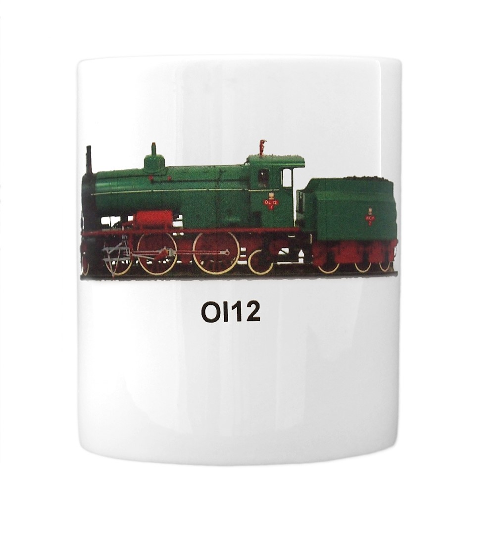 engine Ol12 mug front view