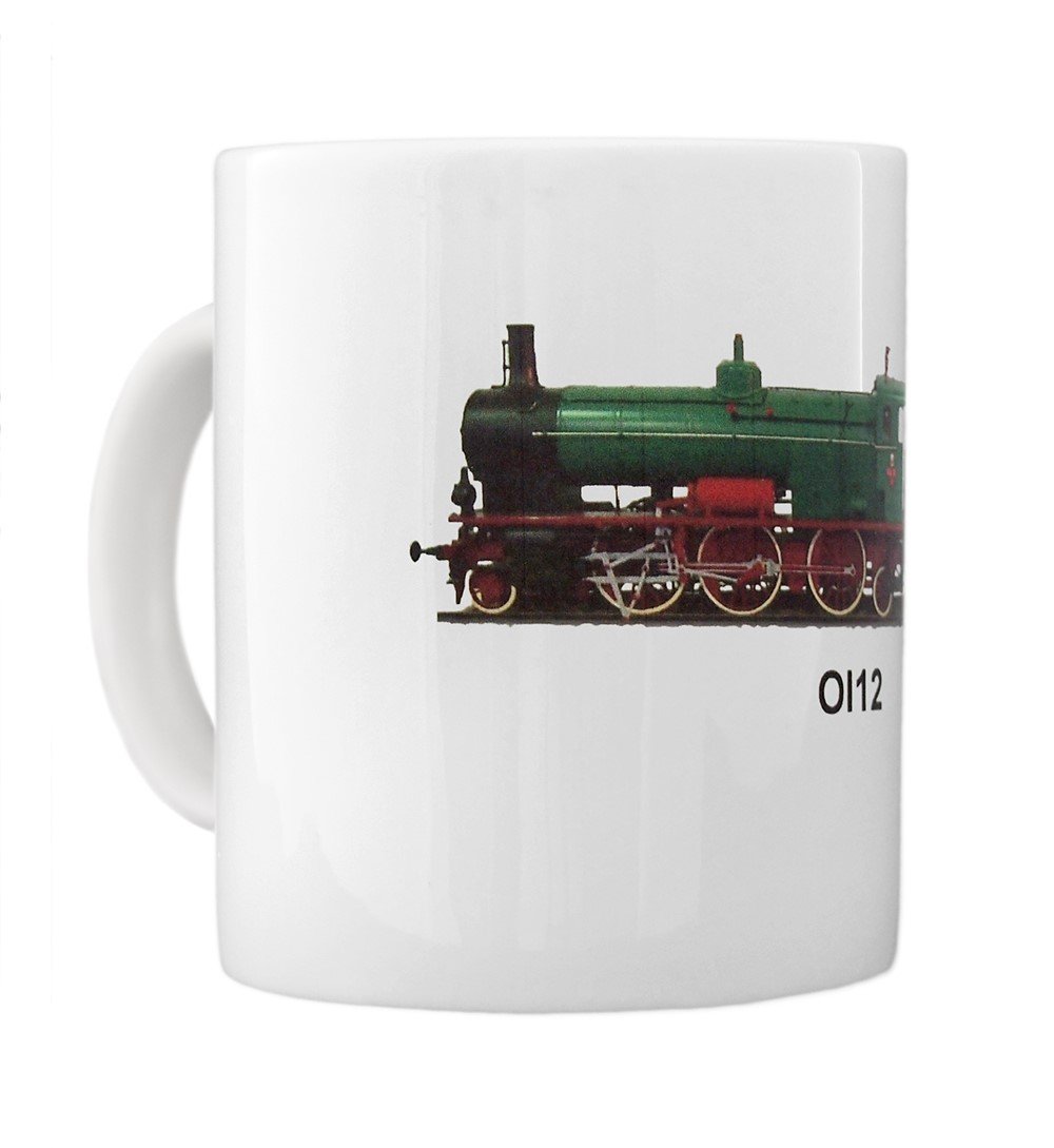engine Ol12 mug left view