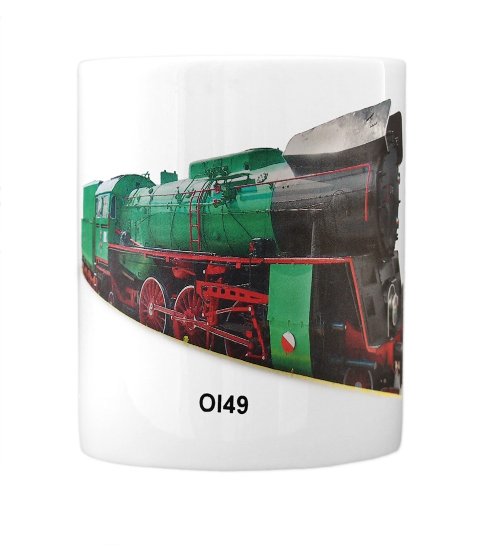engine Ol49 mug front view