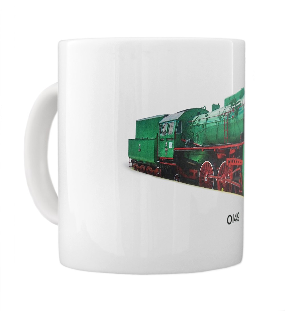 engine Ol49 mug left view