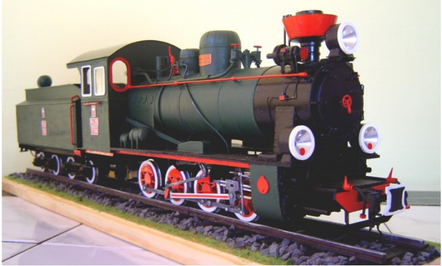 steam engine px29 model image 3