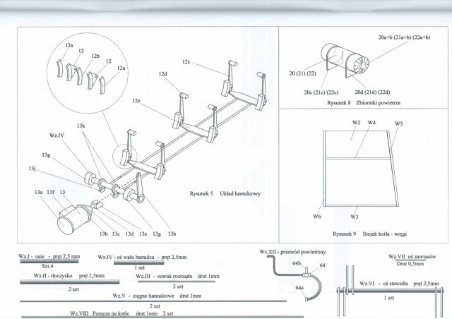 steam engine px29 model instructions 1