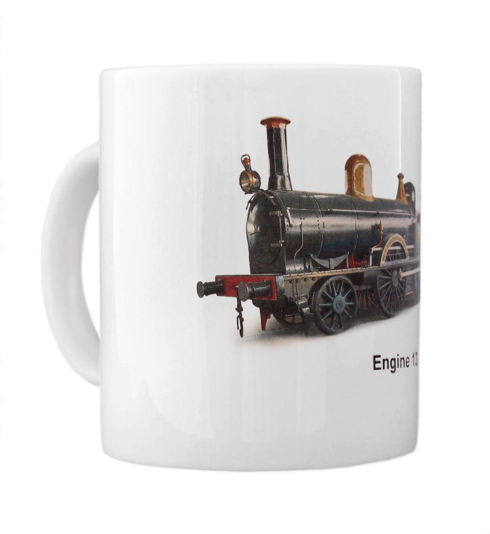 engine 13 mug left view
