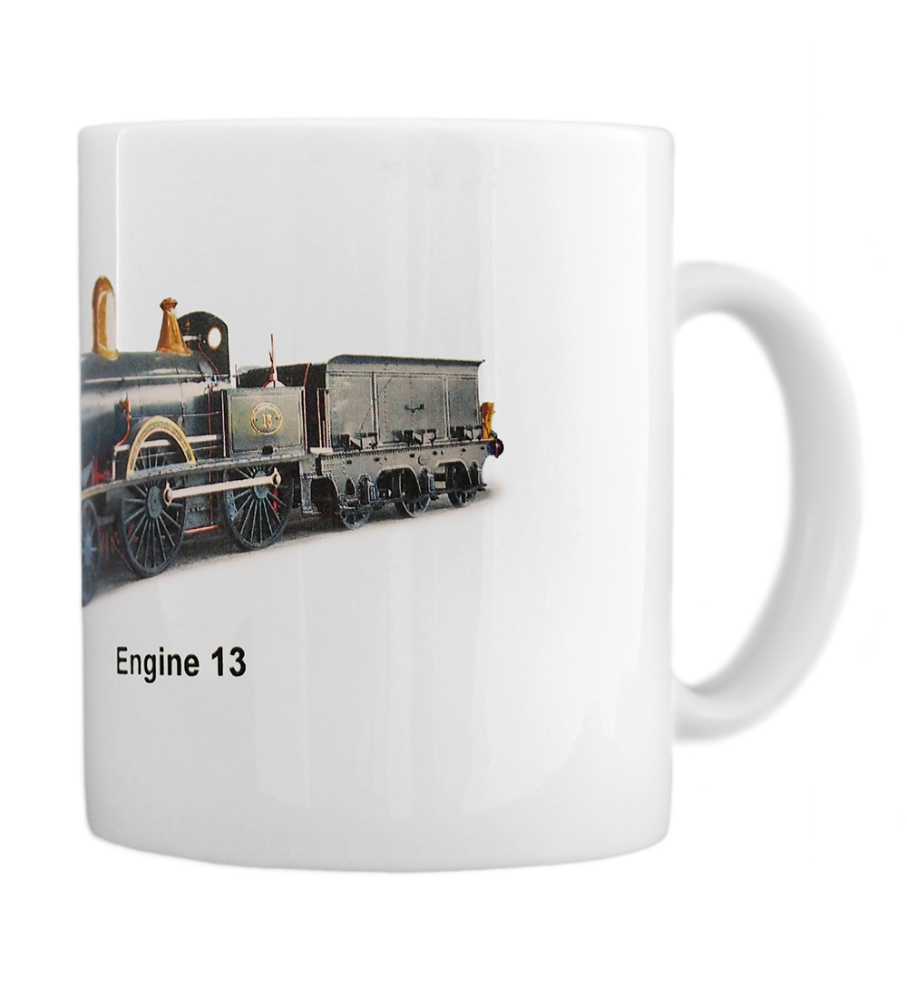 engine 13 mug right view
