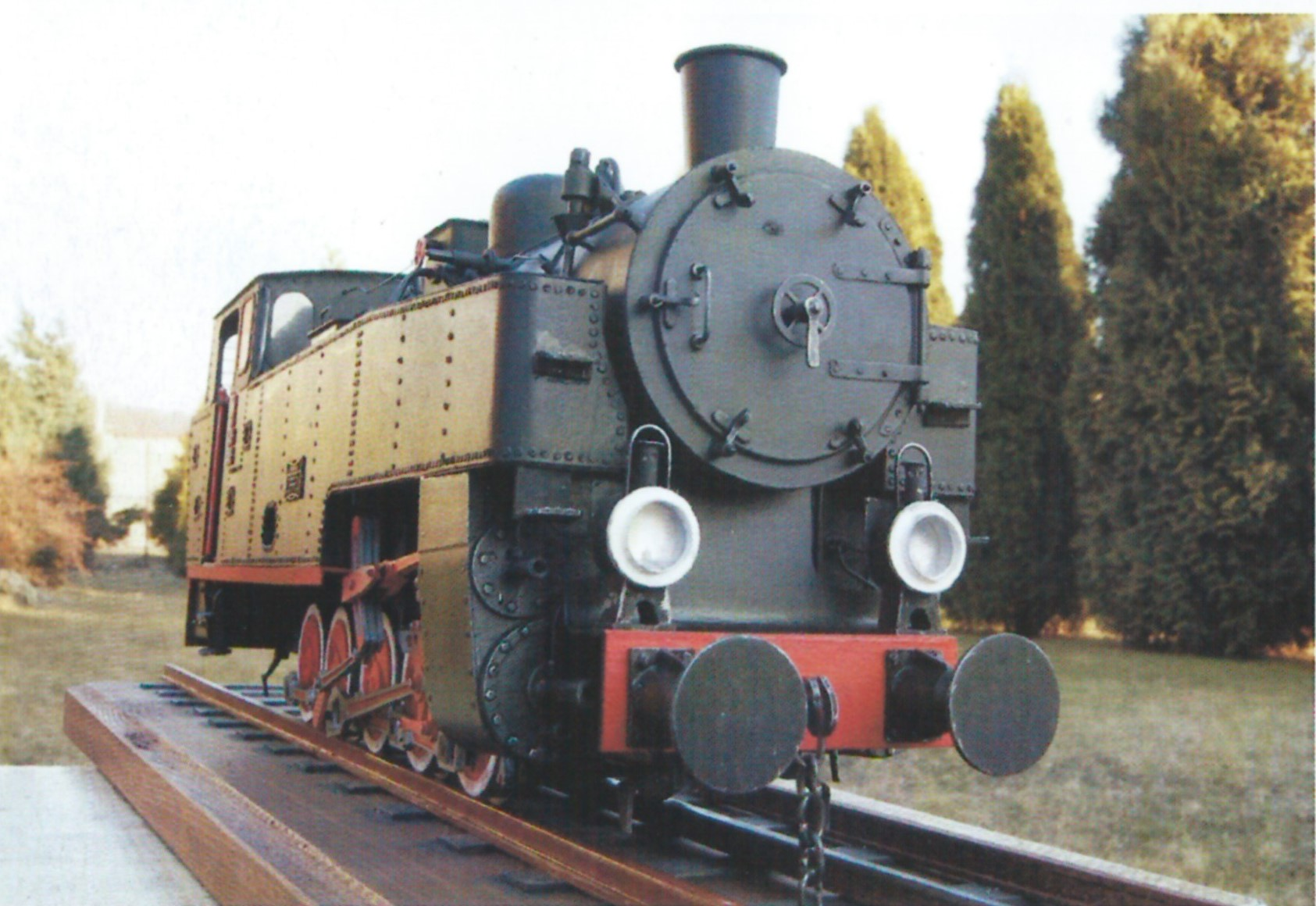 narrow gauge steam engine tw29