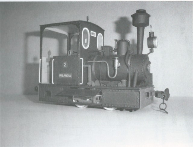narrow gauge engine wilanowska model 1