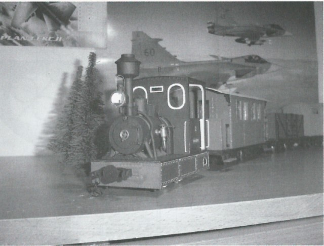 narrow gauge engine wilanowska finished model 2