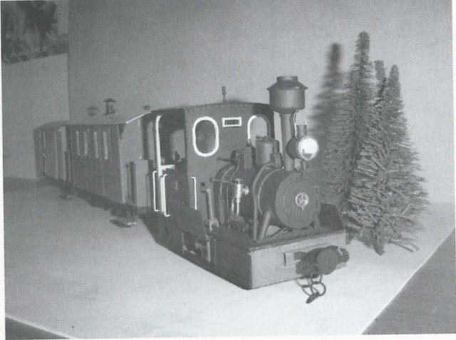 narrow gauge engine wilanowska finished model 3
