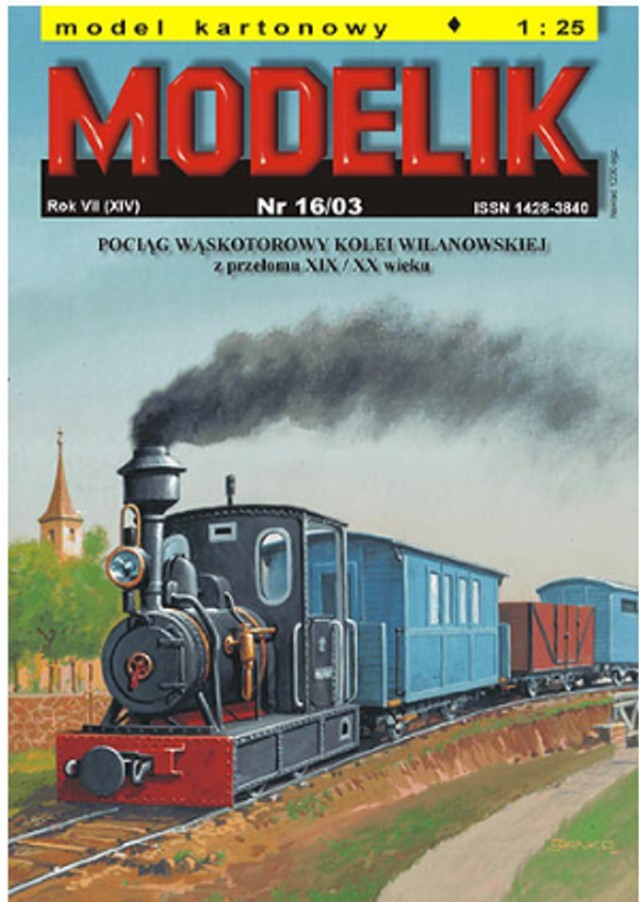 narrow gauge engine wilanowska book cover